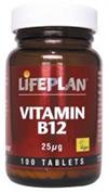 Cyanocobalamin - Lifeplan 25