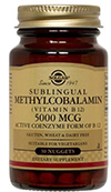 Methylcobalamin - Solgar 5000