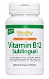 Methylcobalamin - Vitality Sublingual